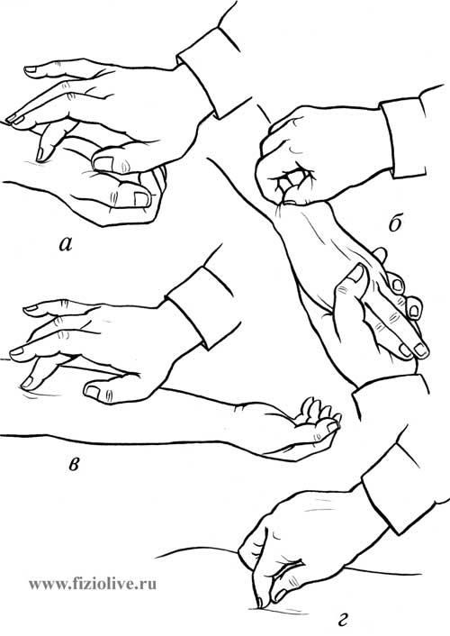 точечный массаж на животе