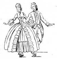 French dance gavotte