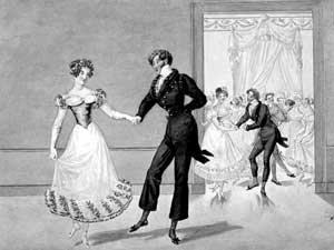 the ball dance Kotilyon