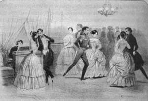ball dance Mazourka