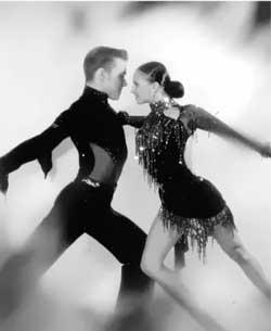 Latin American program of ballroom dances