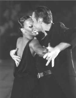 Rumba Latin dance doubles