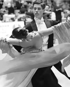 Vienna waltz of the movement
