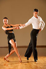Rumba dance is derived from the Cuban habanera with Spanish roots and African rhythms