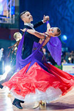 Viennese Waltz gets rid of some of the movements and takes the view, which is known today
