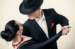 Tango dance was introduced to Europe from South America